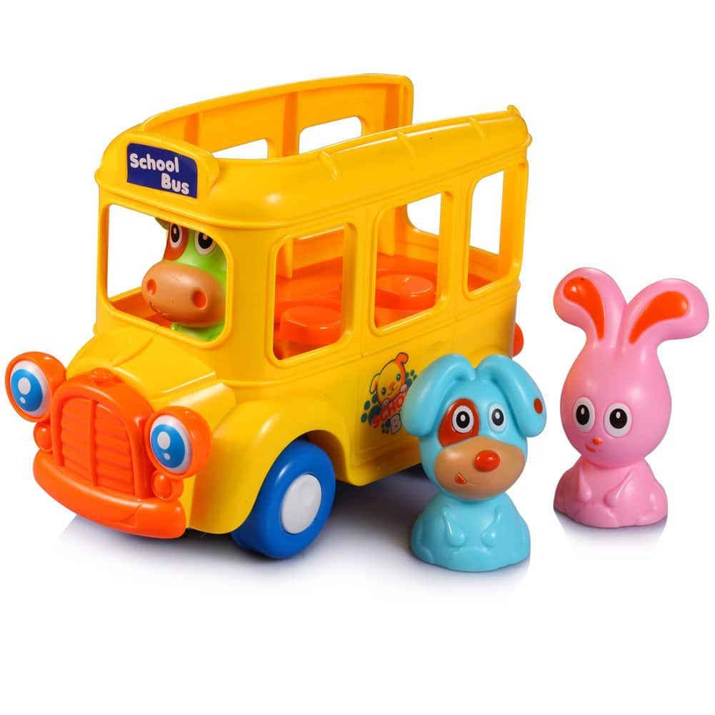 KAWO Kids moving School Bus with sounds for $5.96 after coupon code: M59IN5WD