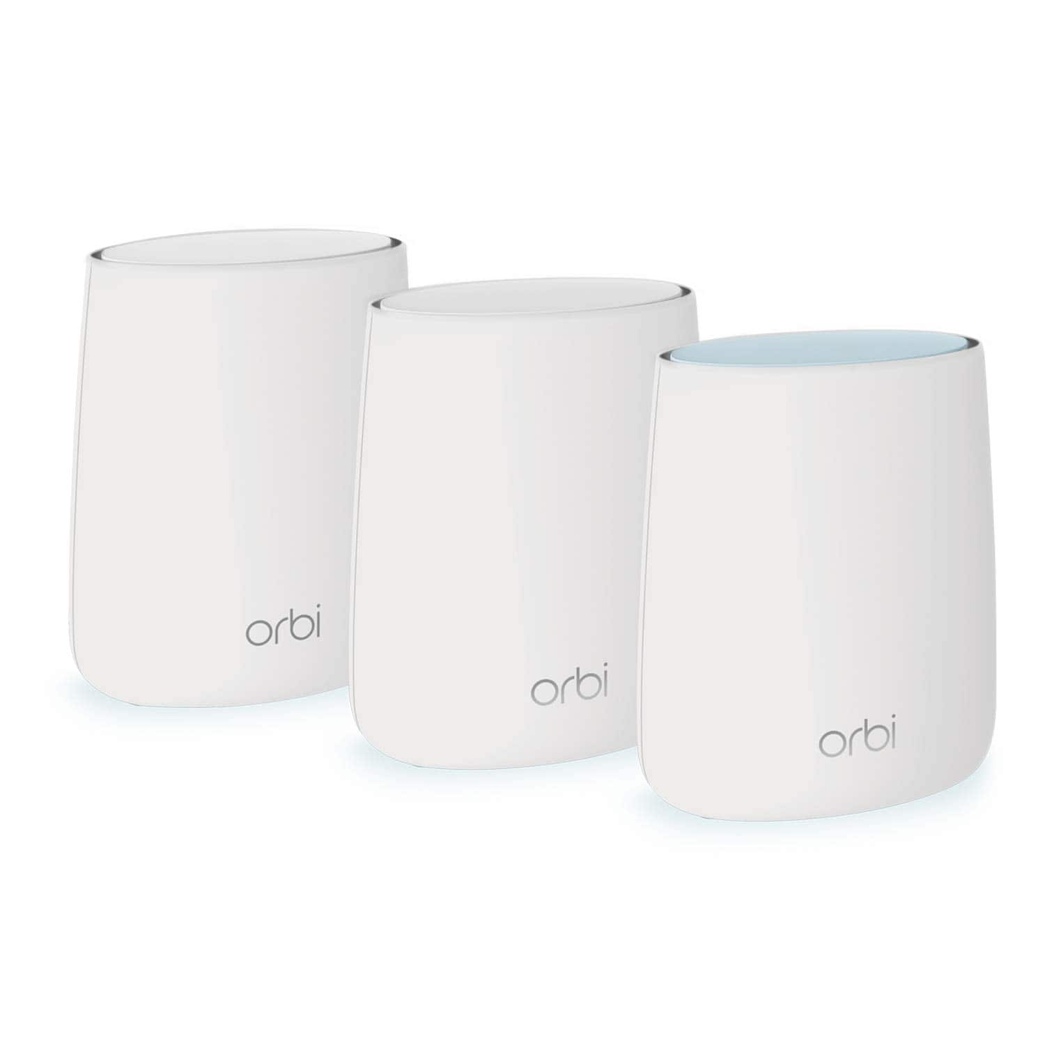 NETGEAR Orbi Tri-band Whole Home Mesh WiFi System with 2.2Gbps speed (RBK23) - 113.38 + tax $113.38