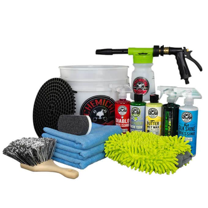 Costco.com Chemical Guys 13-piece Car Wash Bucket with TORQ Foam Blaster delivered $69.99