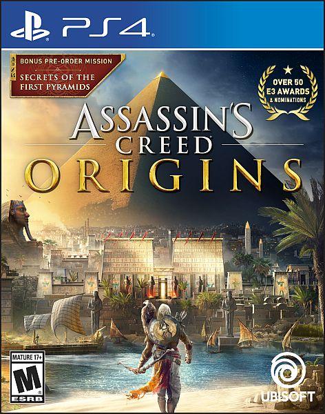 Assassins Creed Origins (PS4) $29.00 w/free pickup @ walmart