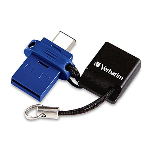 Verbatim USB-C Store 'n' Go Dual USB Flash Drive 32 GB $8