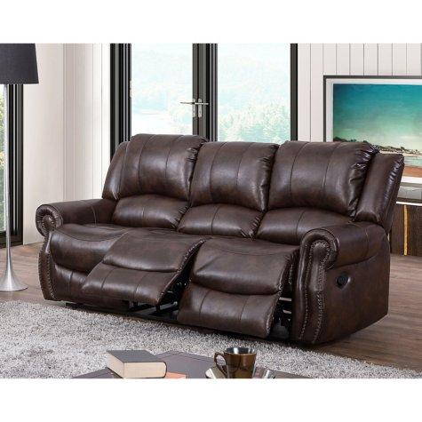 Sams Club Turner Triple Reclining Fabric Sofa 499