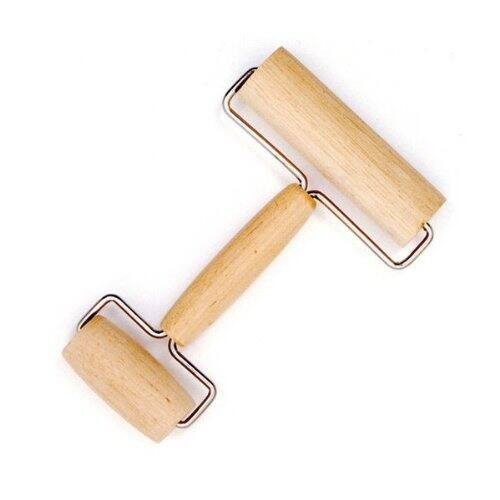 Amazon has the Norpro Wood Pastry/Pizza Roller $4.95