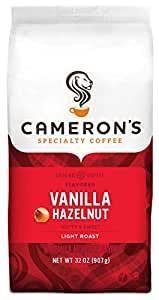 Cameron's Coffee Roasted Ground Vanilla Hazelnut (32 Oz. Bag)  $7.98 Amazon SS