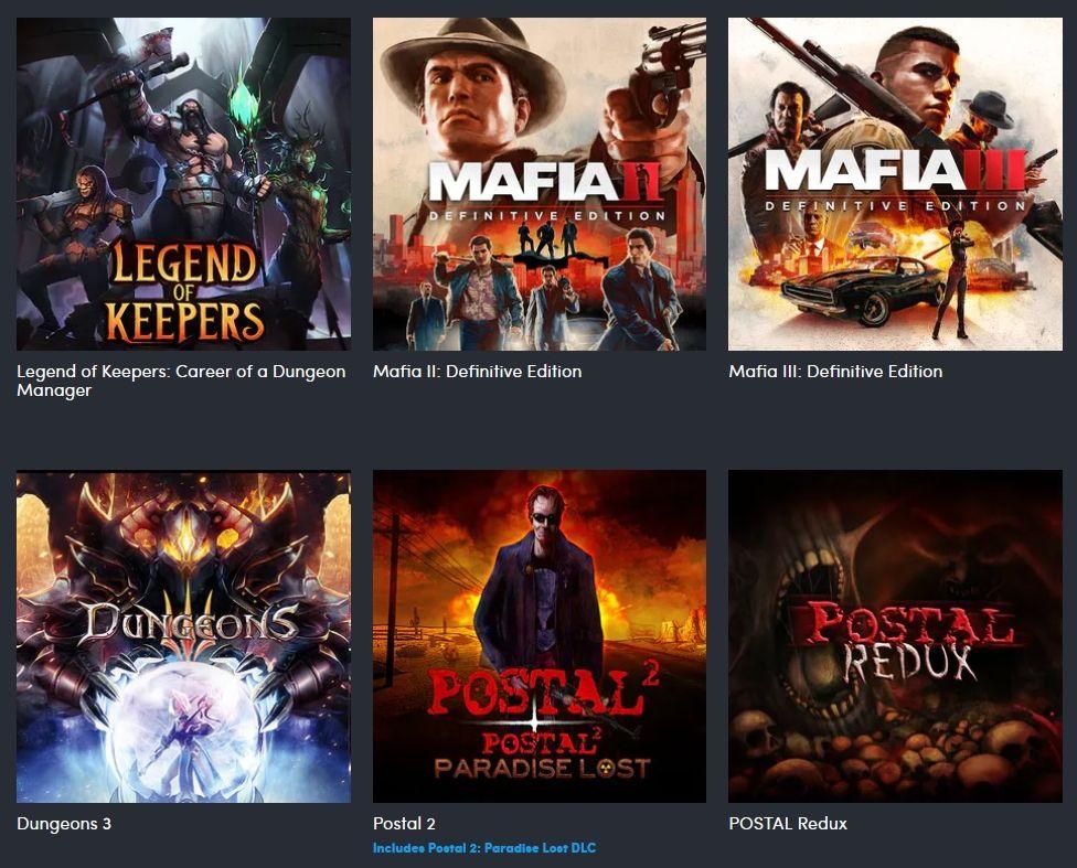 "Humble Bundle ""Bad Guy"" Collection (PC Games Download) Definitive Mafia II, Mafia III, more $13"