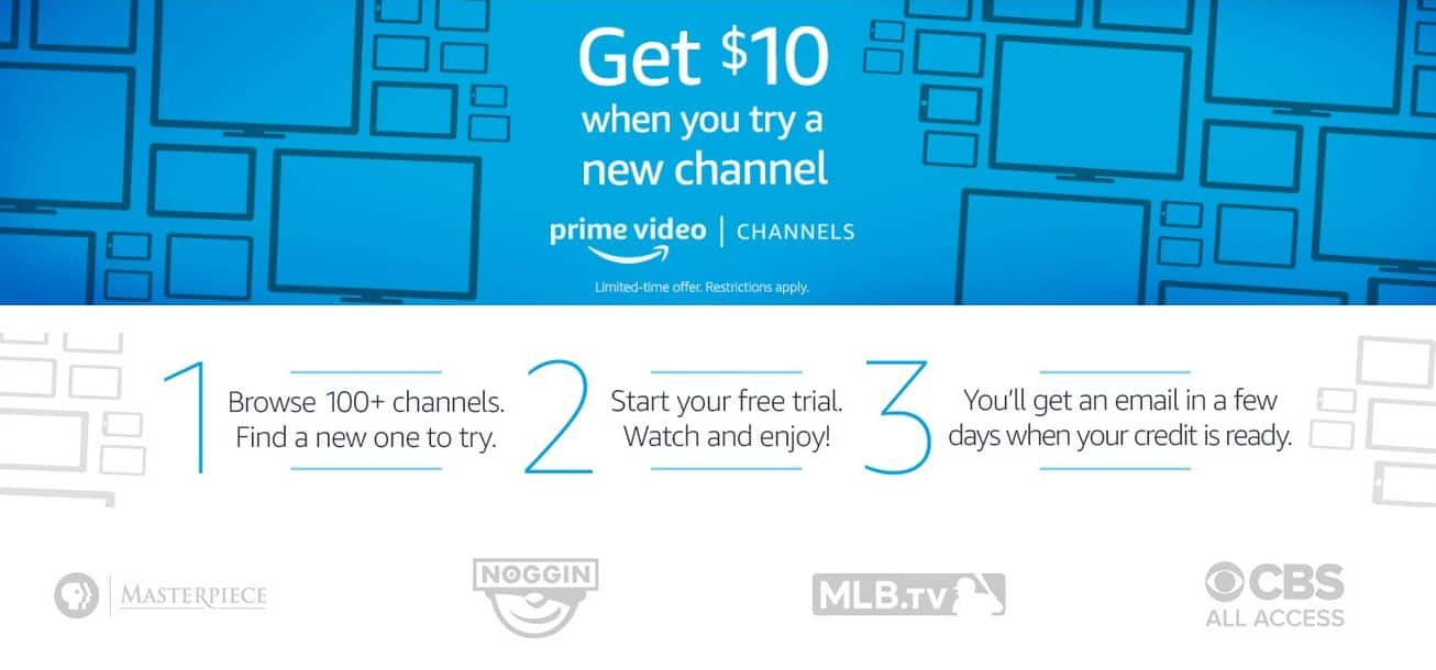Prime members try a new Amazon Channel with free trial get