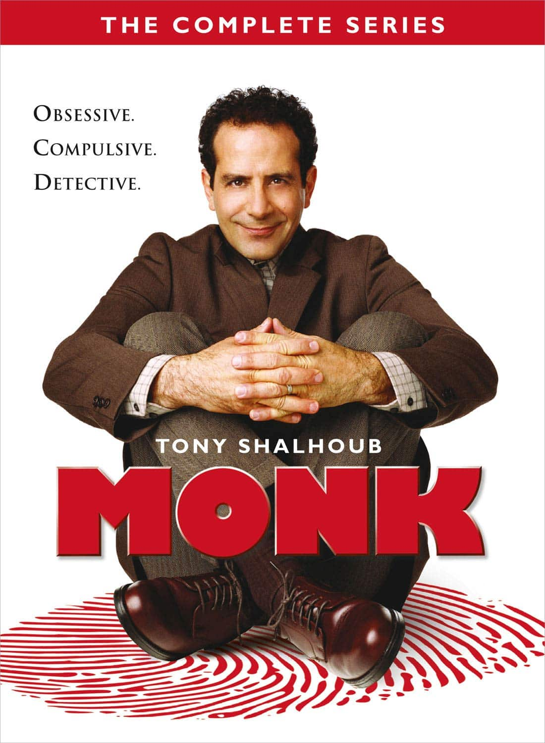 Monk The Complete Series (DVD) Amazon $28.99