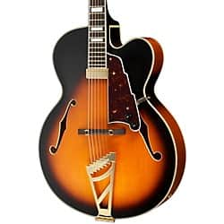 SDOTD:  D'Angelico Excel Series EXL-1 Hollowbody Electric Guitar with Stairstep Tailpiece (available in Vintage Sunburst and Natural colors) for $700 (list price $1,400) $699.99