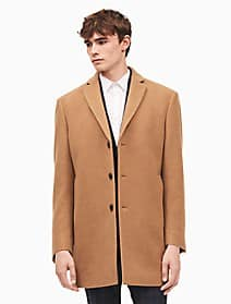 Calvin Klein Wool Blend Topcoat (Black and Camel) for $120 or $102 if you sign up for the mailing list (list price $300)