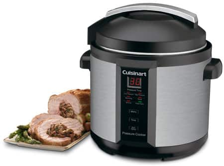 Cuisinart 6 Quart Electric Pressure Cooker - Black Stainless $54.99 + FS with Saturday's (11/11/17) emailed promo code