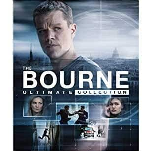 The Bourne Ultimate Collection [Blu-Ray] $25 + FS with 11/19/17 promo code at Fry's $24.99
