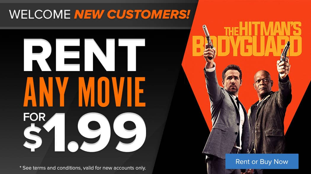 Fandango Promo:  New customers can rent any movie (including new releases) for $1.99