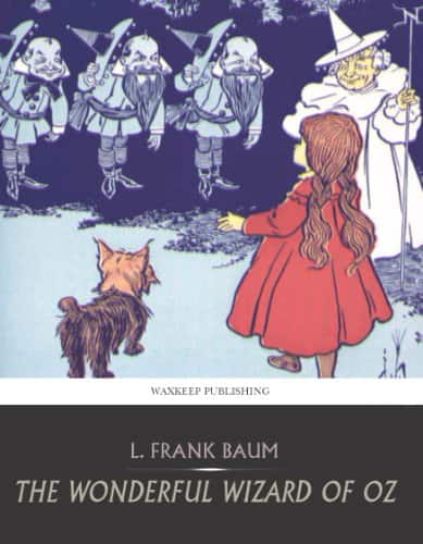 The wonderful wizard of oz Kindle book for $0.00