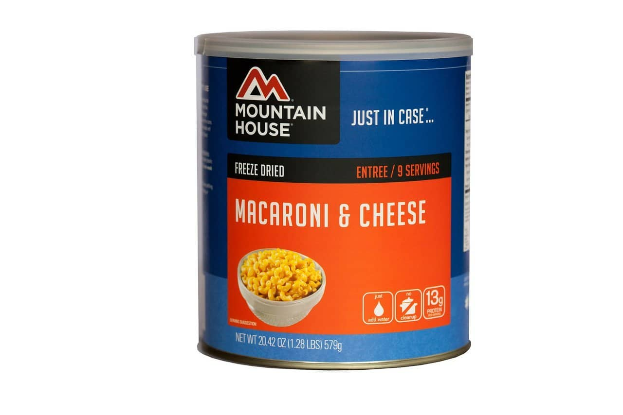 #10 Can Mountain House Macaroni and Cheese $14.12 with 5% S&S Amazon Prime