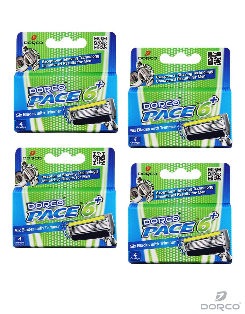 Dorco USA: Men's Pace 6+ (16 refill Cartridges) - $17.37 Plus Free Shipping