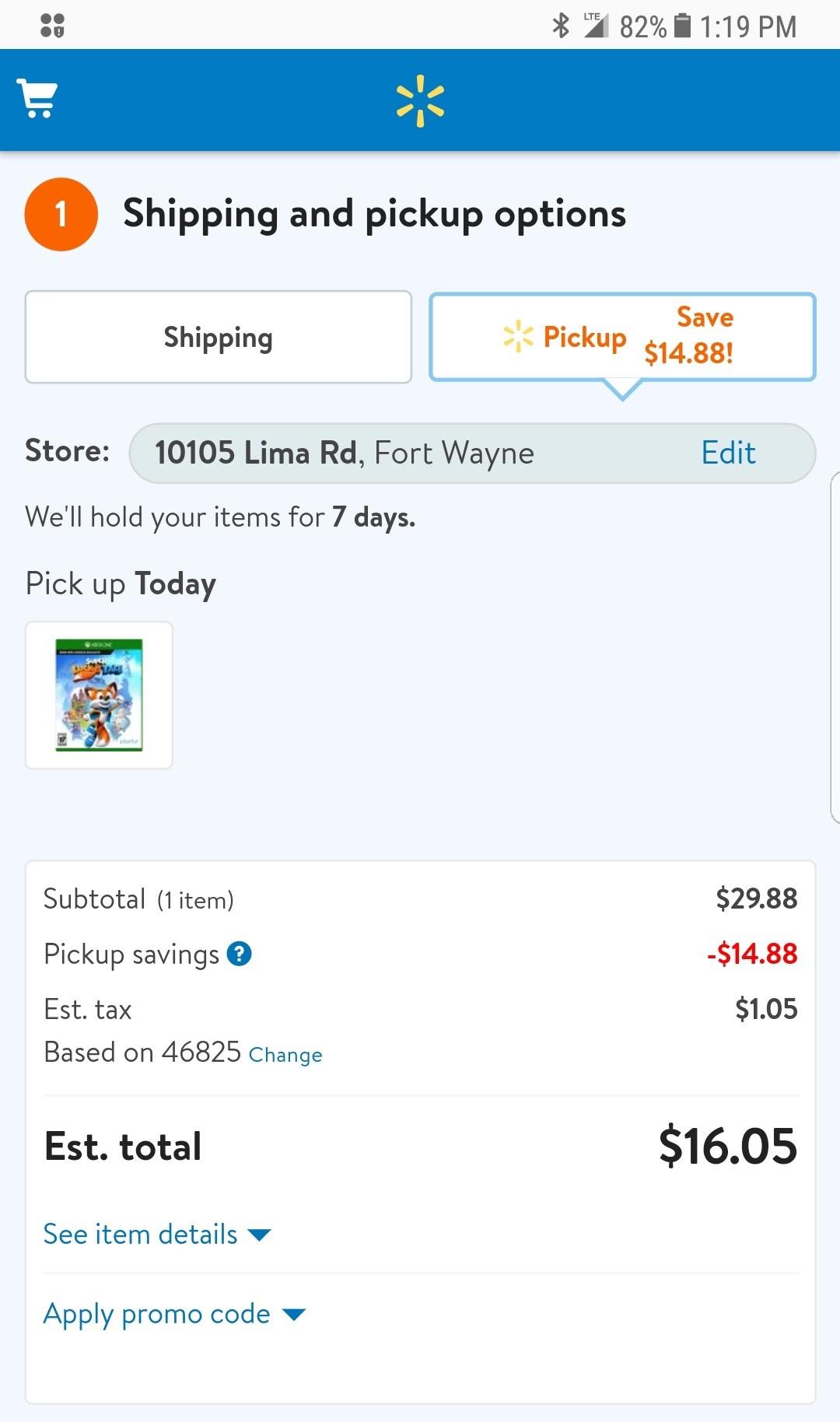 Super Lucky's Tale (Xbox ONE) Walmart B&M VERY YMMV 15.00