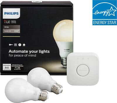 EBAY: Philips Hue A19 White Wireless Starter Kit-White-Mint (New) $24.99