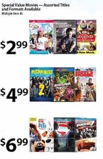 BJs Wholesale Black Friday: The Bourne Legacy, Pitch Perfect & More for $2.99 - $6.99