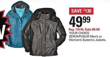 Shopko Black Friday: Zeroxposure Mens Systems Jackets for $49.99