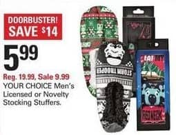 Shopko Black Friday: Men's Novelty Stocking Stuffers for $5.99