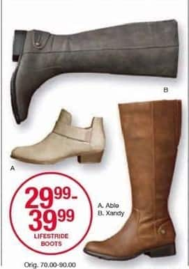 Belk Black Friday: Lifestride Boots for $29.99 - $39.99