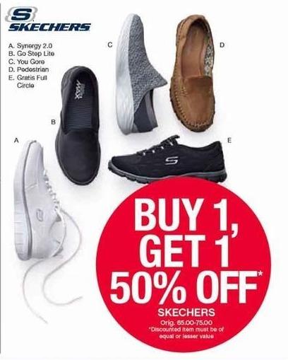 Belk Black Friday: Select Skechers Shoes - B1G1 50% Off