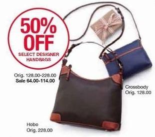 Belk Black Friday: Select Designer Handbags - 50% Off