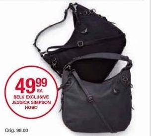 Belk Black Friday: Jessica Simpson Hobo for $49.99
