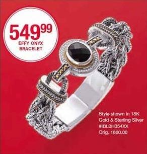 Belk Black Friday: Effy Onyx Bracelet for $549.99