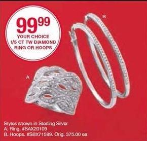 Belk Black Friday: 1/5 Ct. Tw. Diamond Ring for $99.99