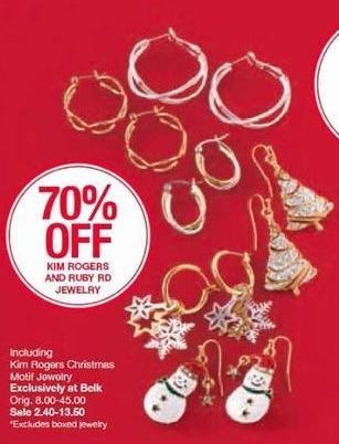Belk Black Friday: Kim Rogers Jewelry - 70% OFF