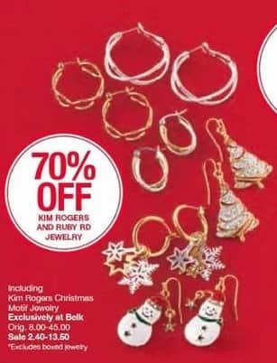 Belk Black Friday: Ruby Red Jewelry - 70% OFF