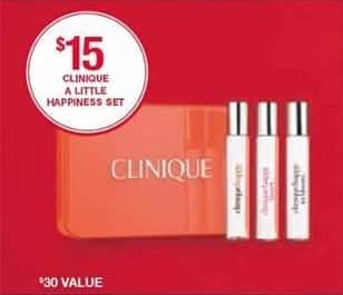 Belk Black Friday: Clinique A Little Happiness Set for $15.00