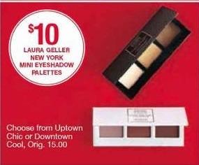 Belk Black Friday: Laura Geller New York Mini Eyeshadow Palettes for $10.00