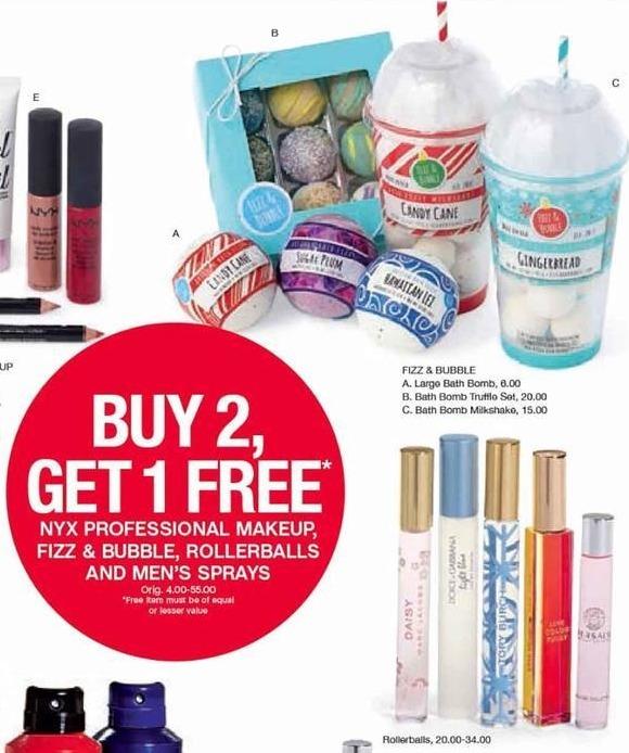 Belk Black Friday: Fizz & Bubble Bath Bombs & Rollerballs - B2G1 Free
