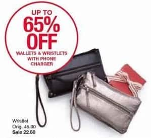 Belk Black Friday: Wallets & Wristlets w/ Phone Charger for $22.50