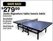 Terrific Sears Black Friday Joola Signature Table Tennis Table For Home Remodeling Inspirations Propsscottssportslandcom