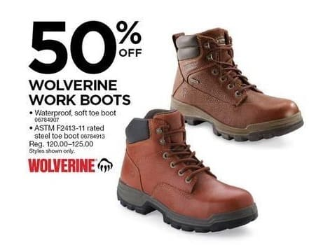Sears Work Boots Wolverine