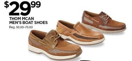 Sears Black Friday: Thom Mcan Mens Boat Shoe for $29.99