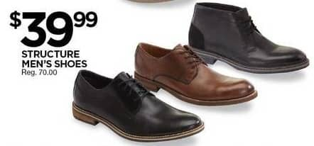 Sears Black Friday: Structure Mens Shoes for $39.99
