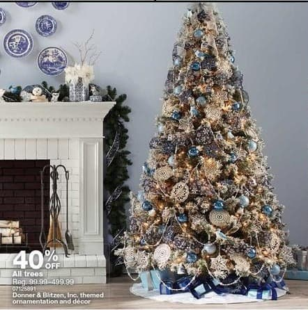 sears black friday christmas trees 40 off - Black Friday Christmas Trees