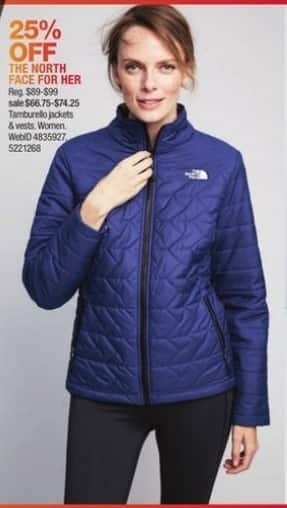 Macy's Black Friday: The North Face Women's Jackets - 25% OFF