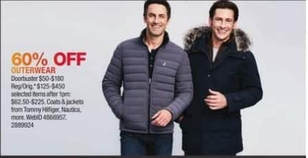 Macy's Black Friday: Tommy Hilfiger, Nautica, & More Outerwear - 60% OFF