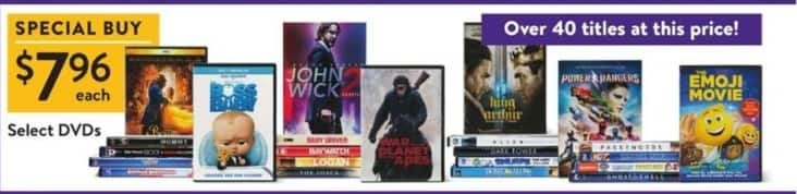 Walmart Black Friday: Boss Baby, John Wick & More Select DVDs for $7.96
