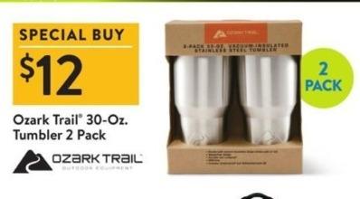 Walmart Black Friday: Ozark Train 30-Oz. Tumbler 2 Pack for $12.00