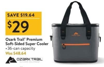 Walmart Black Friday: Ozark Trail Premium Soft-Sided Super Cooler for $29.00