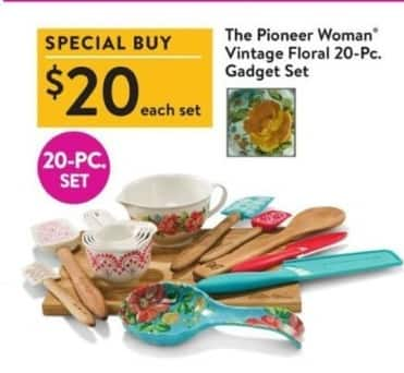 Walmart Black Friday The Pioneer Woman Vintage Floral 20-Pc. Gadget Set for · See Deal  sc 1 st  Slickdeals & Walmart Black Friday: The Pioneer Woman Vintage Floral 20-Pc. Gadget ...