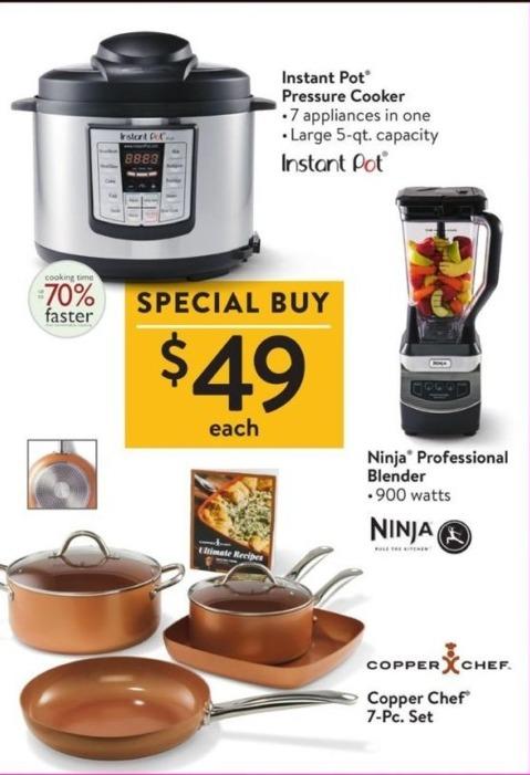 Walmart Black Friday: Copper Chef 7-Pc. Set for $49.00