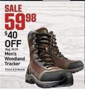 Dicks Sporting Goods Black Friday: Field & Stream Mens Woodland Tracker for $59.98