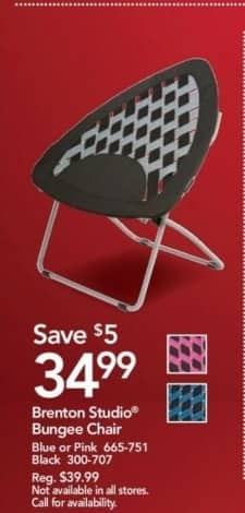 Office Depot and OfficeMax Black Friday: Brenton Studio Bungee Chair for $34.99